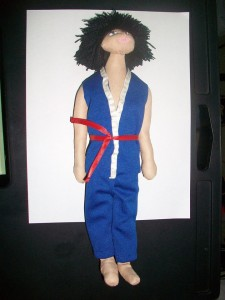 aroku plush action figure